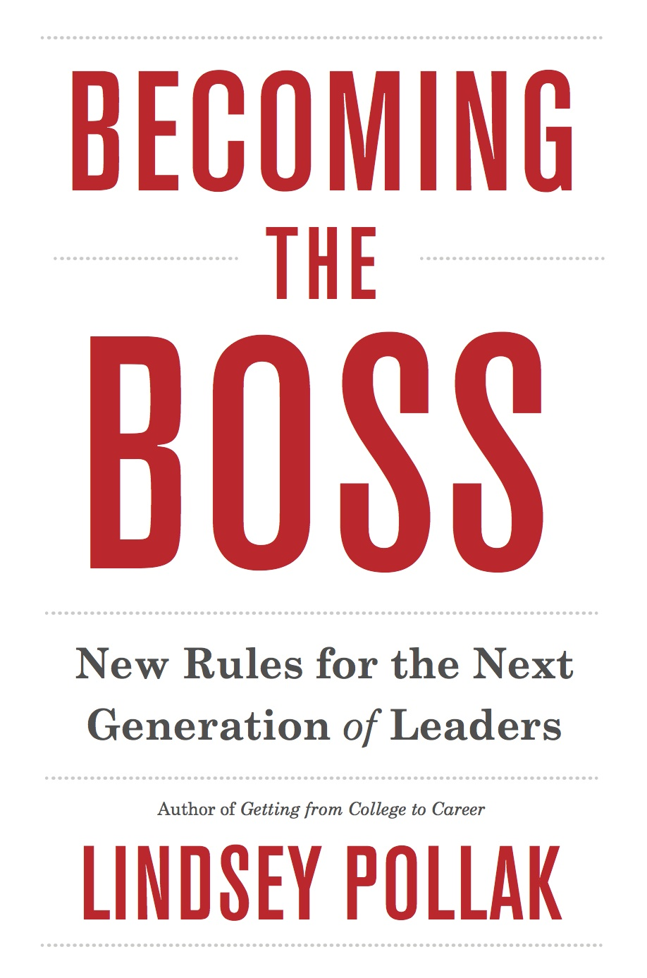 Becoming the Boss Book Cover