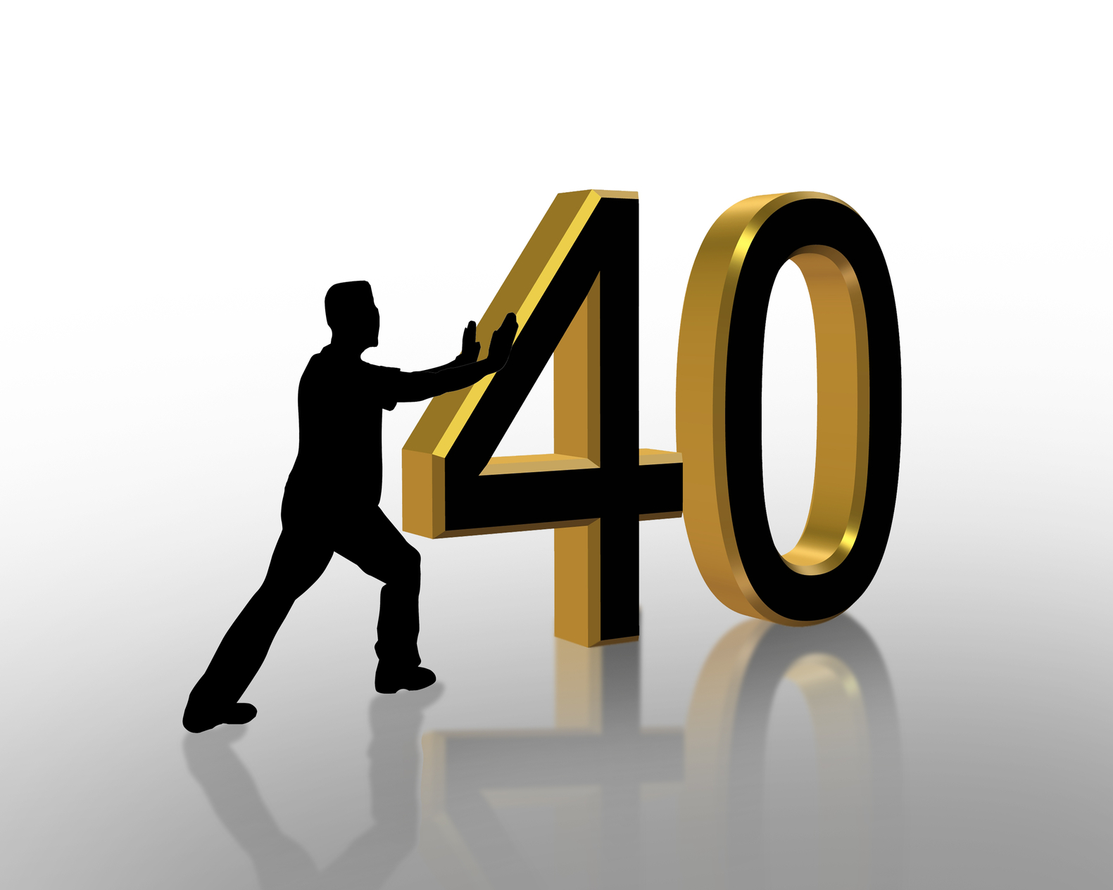 Turning 40 Doesn't Suck After All | Photo courtesy of Depositphotos (2088604).