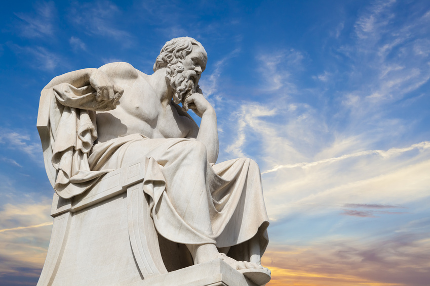 WWSA: What Would Socrates Ask? Photo courtesy of Fotolia (47258409 anastasios71).