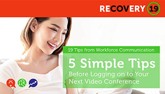 5 Simple Tips Before Logging onto Your Next Video Conference